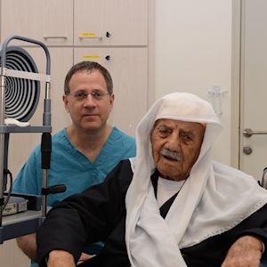 ניתוח קטרקט בגיל 102 - מגזין אדם